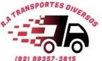 Logo de R.A Transportes - Fretes e Mudanças em Cidade de Deus
