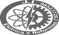 Logo J.I ELÈRICA E REFORMAS em Icuí-Guajará