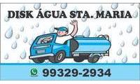 Logo Disk Agua Santa Maria em Três Marias
