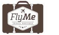 Logo de Fly Me Travel Boutique em Lourdes
