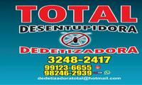 Logo Total Dedetizadora - Desratização, Descupinização e Controle de Pragas em Aparecida de Goiânia em Jardim Riviera