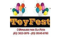 Logo de Toyfest em Areão