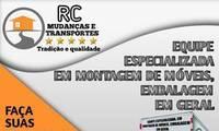 Logo Rc Mudanças E Transporte em Vila Cloris