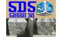 Logo Sds Gesso 3d em Campo de Santana