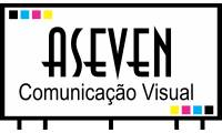 logo da empresa Aseven Comunicação Visual
