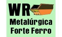 Logo Wr Metalúrgica Forte Ferro em Guaratiba