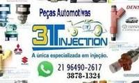 Logo de 3t Injection - Bicos Injetores, Peças de Injeção Eletrônica.