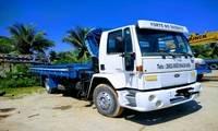 Logo de Caminhão munck transporte em São Vicente