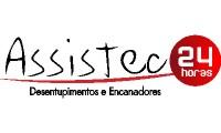 Logo Assistec - Desentupidora e Encanadores tel;41,996641542 em Umbará
