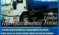 Logo de AQP Cuiabá Limpa Fossa e Desentupidora 24 horas - Cuiabá MT em Tijucal