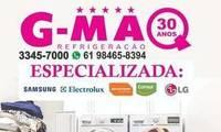 Logo GMAQ REFRIGERAÇÃO