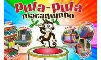 Logo Pula Pula macaquinho - Aluguel de brinquedos para festas