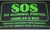 Logo Sos do aluminio em Santa Cruz