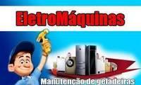 Logo EletroMáquinas - Conserto de Máquinas de lavar em Goiânia.