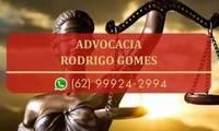 Logo Advocacia Rodrigo Gomes em Jardim Balneário Meia Ponte