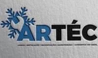 Logo ArTéc - Vendas, Instalação, Higienização, Manutenção e Consertos.
