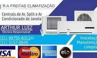 Logo R.A. Freitas Climatização em Recreio dos Bandeirantes