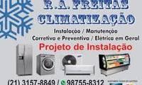 Logo de R.A. Freitas Climatização em Recreio dos Bandeirantes