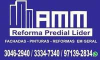 Logo AMM REFORMAS PREDIAIS LÍDER em Santo Agostinho
