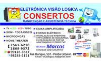 Logo de Eletônica Visão Lógica em Penha Circular