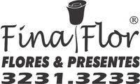 Logo FINA FLOR FLORES em Centro