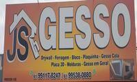 Logo de JS GESSO em Setor Especial (Vila Estrutural)