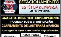 Logo ROTA 72 Ô SPA DO CARRO em Bonsucesso