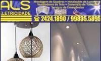Logo de ALS ELETRICIDADE em Taquara