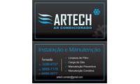 Logo de Artech Ar Condicionado em Alto Boqueirão