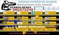 Logo de DIOVANE SERRALHEIRO E MARIDO DE ALUGUEL em Cavalhada