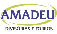 Logo de Amadeu Divisórias e Forros