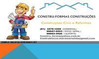 Logo de Construformas Construções E Empreendimentos Ltda em Barra de Jangada