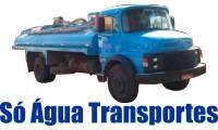 Logo de Só Água Transportes - Caminhão-Pipa