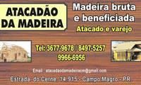 Logo de Atacadão da Madeira - Madeiras em Curitiba em Butiatuvinha