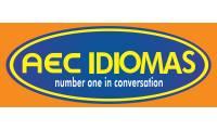 Logo Aec Idiomas Number One In Conversation em Engenho Velho de Brotas