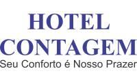 Logo Hotel Contagem Seu Conforto É Nosso Prazer