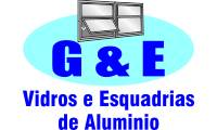 Logo de G & E Vidros e Esquadrias de Alumínio em Campinas de Pirajá