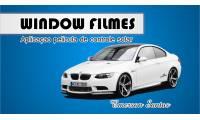 Logo de Window Films em São Cristóvão