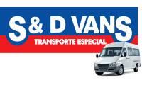 Logo S&D Vans e Locação de Veículos