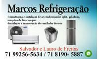 Logo de Marcos Refrigeração Lavadora, ar condicionado e Geladeiras em Portão