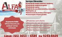 Logo Alfa Dedetização E Serviços em Planalto
