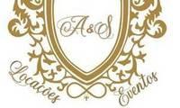 Logo A&S Locações e Eventos em Vila São José (Cidade Dutra)