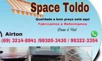 Logo Space Toldos em Lagoinha