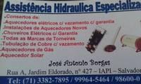 Logo Assistência Hidráulica Especializada