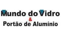 Logo de Mundo do Vidro & Portão de Alumínio em Pirapora