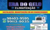 Logo de ERA DO GELO CLIMATIZAÇÃO