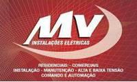 Logo MV instalações elétricas / Manutenção em Geradores