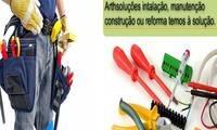 Logo Eletricista é ArthSoluções Elétricas em Parque Paulista
