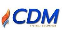 Logo de CDM System Solutions em Centro