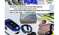 Logo de Oxímetro Dedo Pulso Monitora Batimentos Cardíacos E Saturação Oxígênio Adulto E Infantil em Tijuca